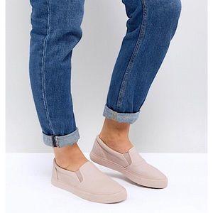 ASOS | Pink Slide Sneakers 8